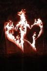 Brennende Herzen zur Hochzeit