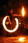 Feuershow, Fackelschwingen