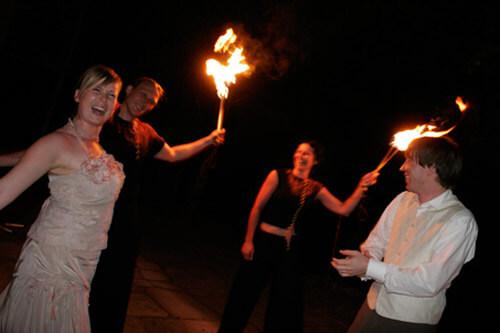 Feuershow Hochzeit Schweinfurt