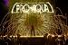 10 Jahre PRO AQUA Feuershow - Feuerwerk