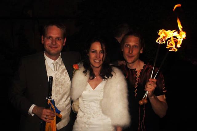 Show zur Hochzeit