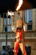 Mittelalterlicher Feuergaukler