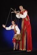 Detlefocus Flammenus und  Dasha seine Lebenden Marionette