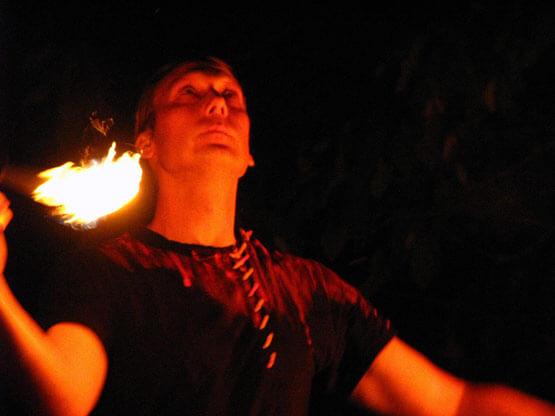 Mittelalterfeuershow