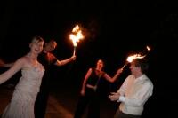 Feuershow Hochzeit Tille