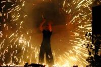 Feuershow Tüngersheimer Höfefest