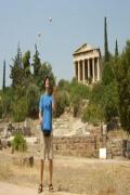 Jonglieren in Athen 2007