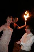 Hochzeit Feuershow