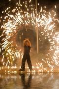 Feuershow auf Firmenevents