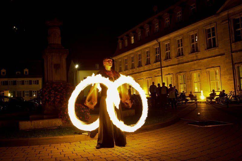 Bamberg Hochzeit Feuershow
