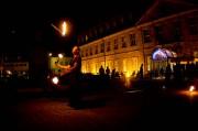 Feuershow Fackeljonglage