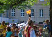 Feuerjonglage Gaukler mit Feuer in Werneck