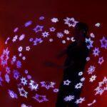 Leuchtshow Firmenweihnachtsfeier