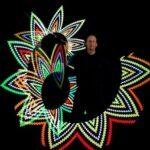 LED Leuchtshow Pixel Poi
