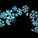 Leuchtshow LED Show Schneeflocken
