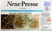 Feuershow Neue Presse